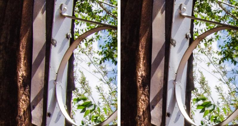 Chromatische Aberration beim Sigma 18-35 mm f/1,8 Objektiv