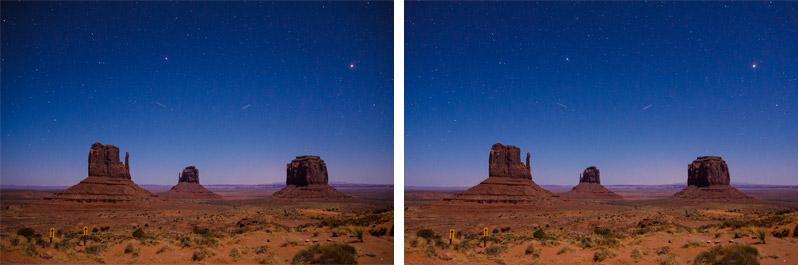 Vignettierung beim Sigma 18-35 mm f/1,8 Objektiv