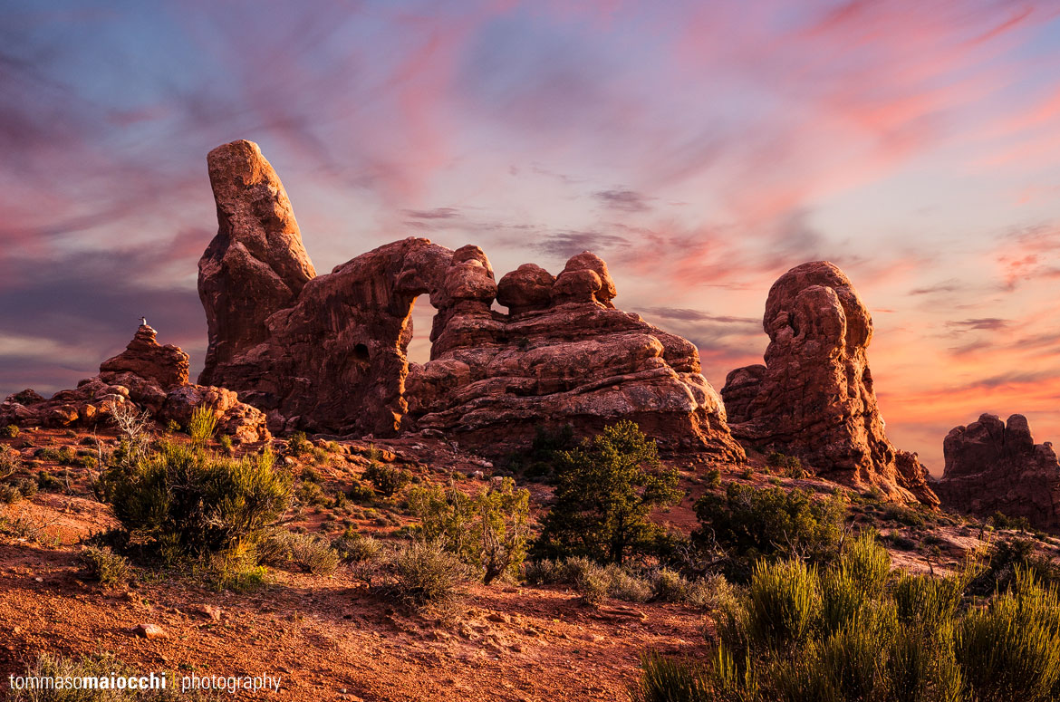 Arches National Park – Turret Arch