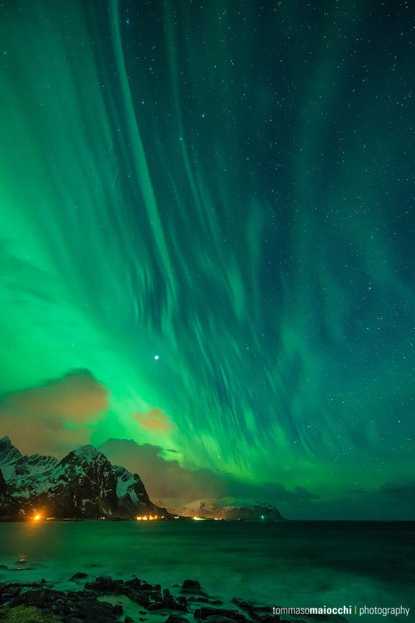 Aurora auf den Lofoten