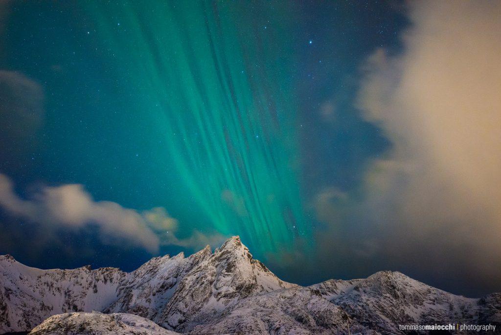 Polarlicht auf den Lofoten