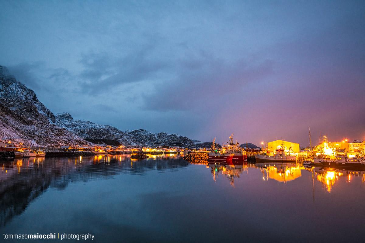 Ballstad auf den Lofoten