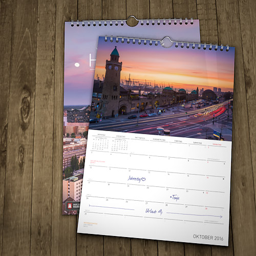 Hamburg Kalender 2016