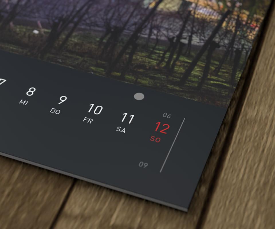 Hamburg Kalender 2017 – Detail