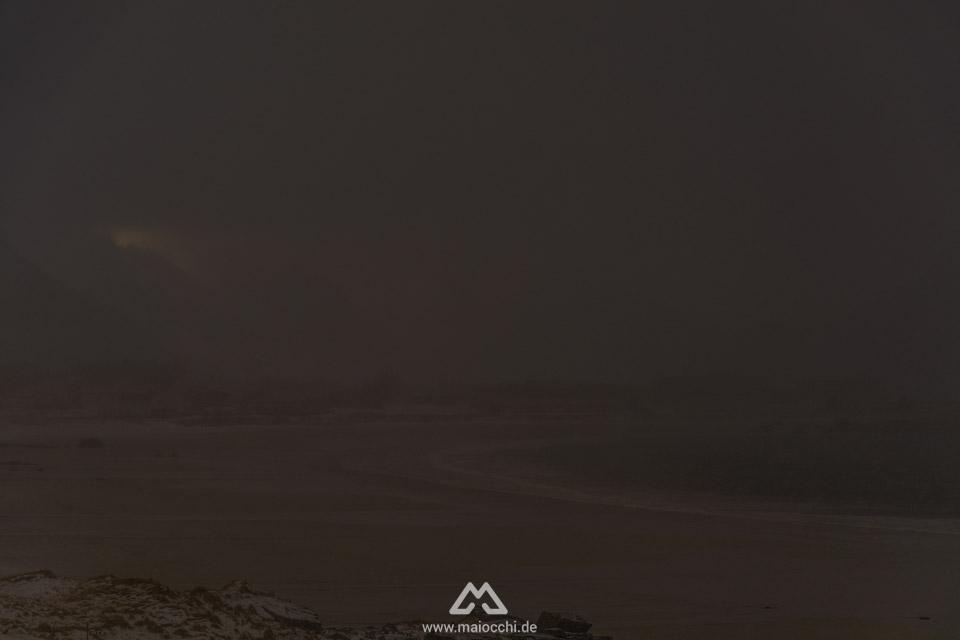 Plötzlicher Wetterumschwung auf den Lofoten